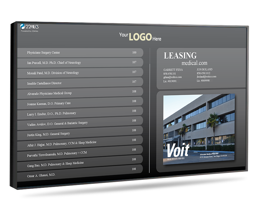 Add management contact, leasing or building maintenance information