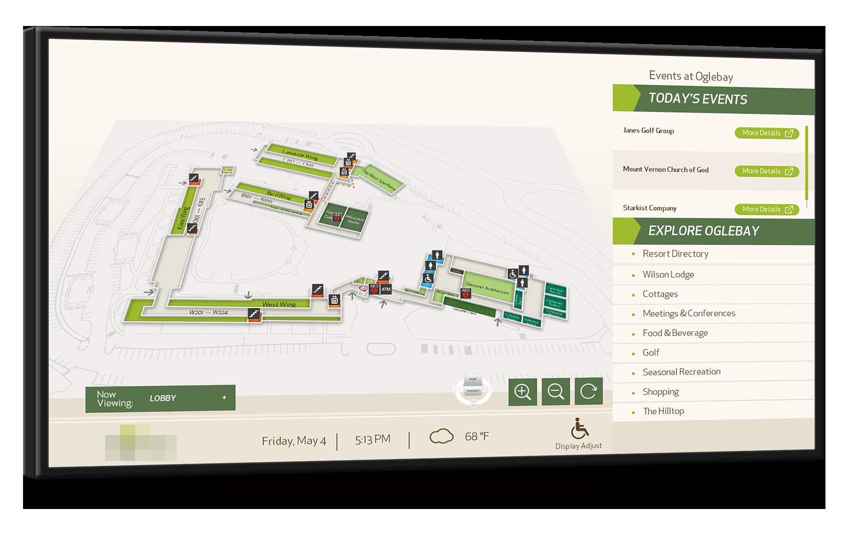 Interactive Hotel Lobby Concierge