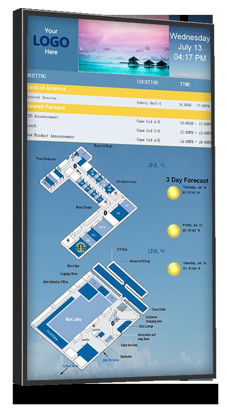 digital directory map