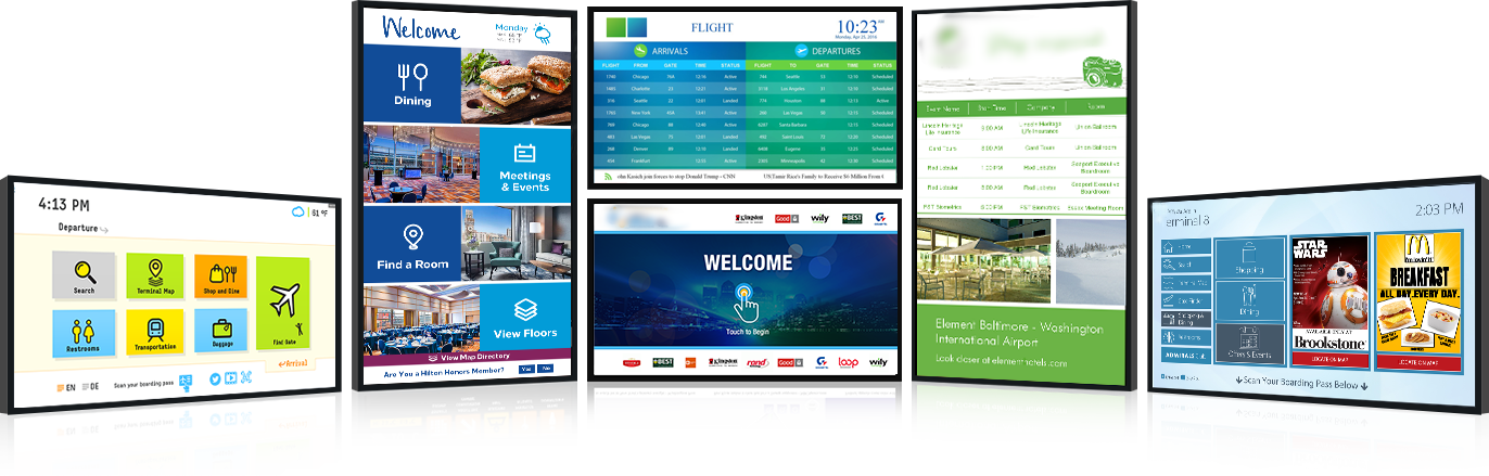 Remarkably Effective Digital Signage Solutions for Business & Organizations